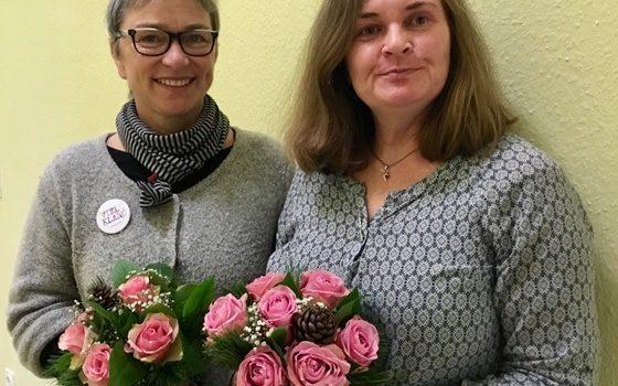 Blumen für Frau Fugmann und Frau Funken